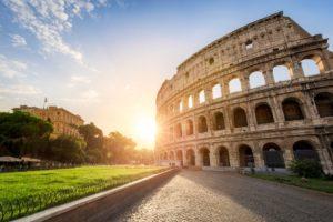 slunečný Řím